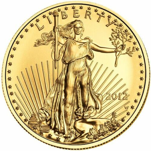 Купить 1 oz American Gold Eagle Coin (Varied Year, BU)