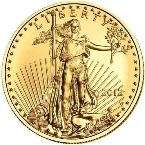 Изображение товара 1 oz American Gold Eagle Coin (Varied Year, BU)