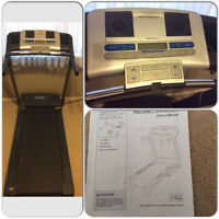 Barely used pro form treadmill xp 620