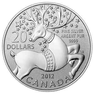 Royal Canadian Mint $20 for $20 Series Pure Silver Coins