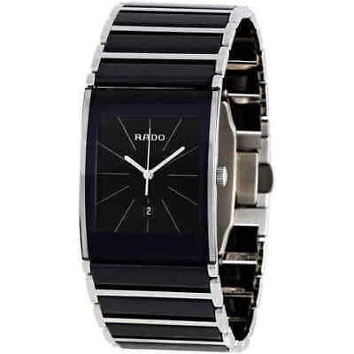 Rado Integral Black Dial Ceramic Men's Watch R20784152