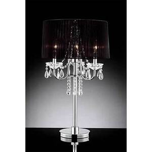 Nice and modern crystal collection table lamps