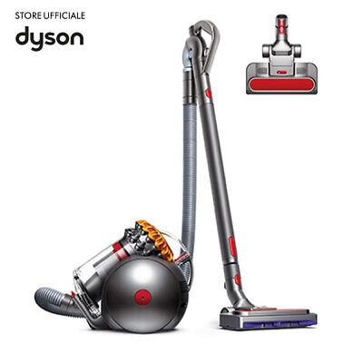Dyson Big Ball Multifloor 2 Aspirapolvere con filo Senza Sacco Giallo/Grigio