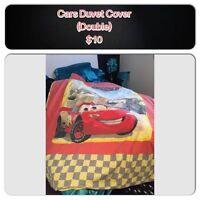Disney Cars Duvet Cover (Double)