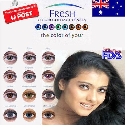 Fresh Coloured Contact Lenses Kontaktlinsen color contact lens color ONE PAIR