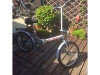 Pro folding bike