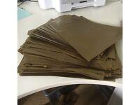 Gold Plastic Bags (115)