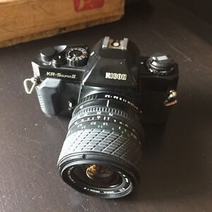 Ricoh KR-5 super II with Sigma Zoom