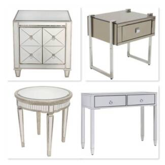 BRAND NEW Stunning Mirrored Tables 8 Styles FREE DELIVERY Adelaide CBD Adelaide City Preview