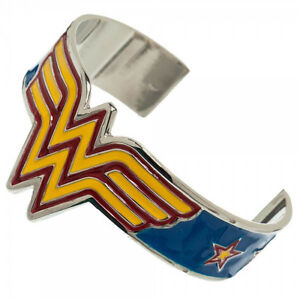 Wonder-Woman-DC-Comics-Cosplay-Costume-Metal-Cuff-Bracelet-Bangle-Wristband-NEW