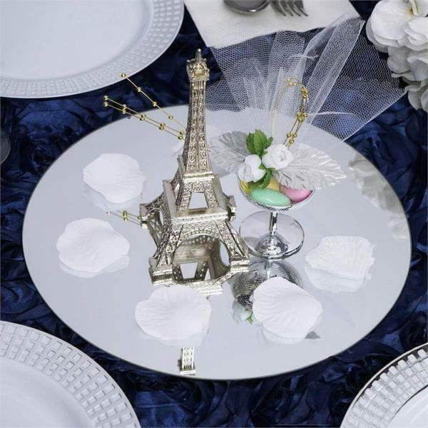 "32 pcs 12"" Round MIRRORS Wedding Party Reception Wholesale CENTERPIECES Supplies"