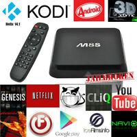 M8S Quad & Dual core  ANDROID  Tv box  FULLY LOADED Kodi/ XBMC