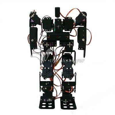 17DOF Biped Robot Educational Robot Kit Servo Bracket w/ Servos and Servo Horn for sale  China