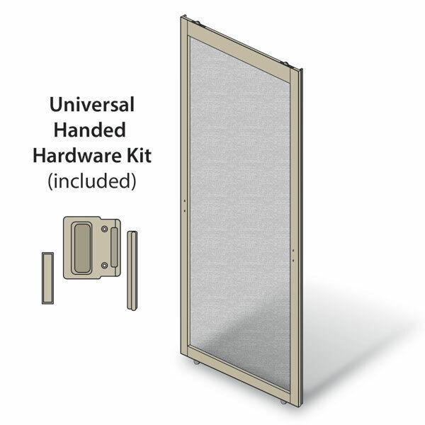 Screen for Andersen PS510 Sliding Patio Door; Sandtone color