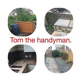 TOM THE HANDYMAN. Handyman and building services.