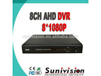 ahd dvr 8 channel +1TB system for cctv cameras ( no cameras included ) free phone app view