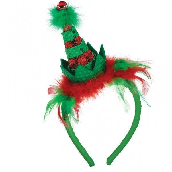 Christmas+Elf+Hat+on+Headband+-+Christmas+Fancy+Dress