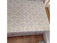 Single Divan Bed and Mattress