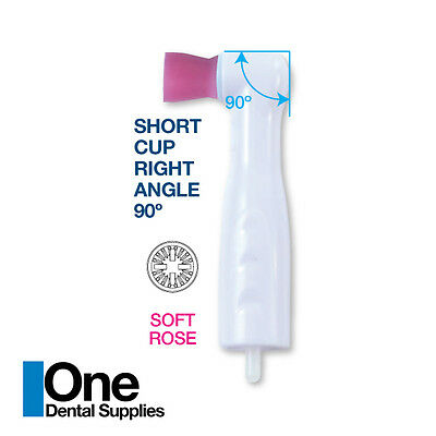 Dental Disposable Prophy Angles Soft Short Cups 90 - Latex Free 100s