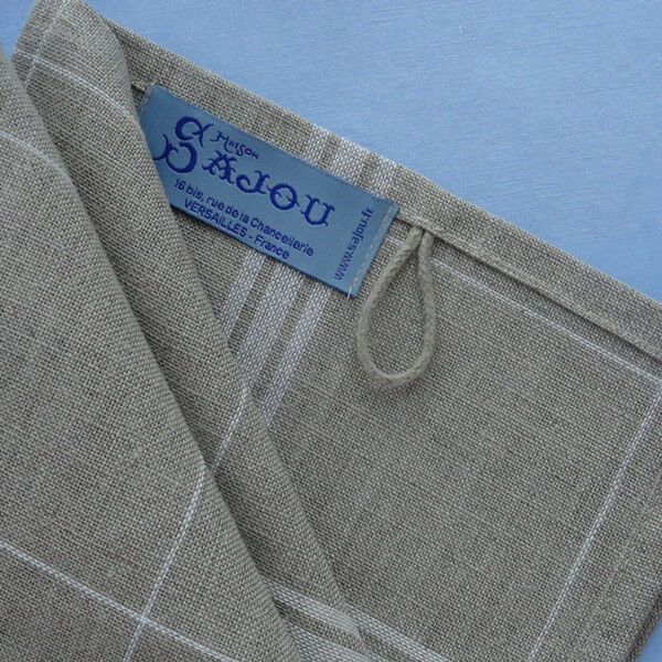 Sajou French 100% Linen Tea Towels - Stitchable