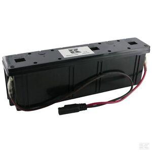 starterbatterie blei gel akku f r rasenm her mit holmmontage 12 volt ebay. Black Bedroom Furniture Sets. Home Design Ideas