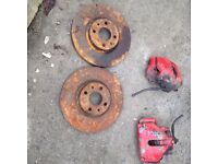 Vauxhall corsa 2.0 redtop front brakes,£50,no offers