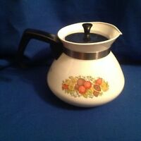 Vintage 1970's Corning Ware Spice of Life Teapot