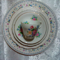 Through the month of Sept Bone China Dishes! Made in England