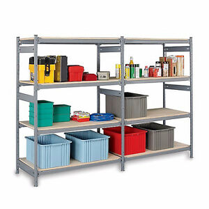Used - EZrect -  Boltless Shelving - Assembles in minutes