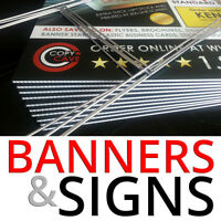 Print Signs & Banners - Outdoor Signage @ The Lowest Prices!