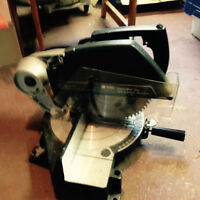B&D chop saw (NOT sliding miter)
