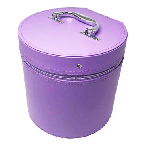 Lavender, Lilac, Light Purple Hat, Fez, Wig, Carrier Box. #838