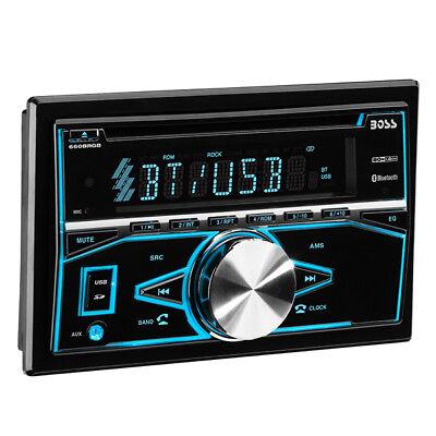 BOSS Audio Elite 660BRGB 2-Din, Bluetooth, MP3/CD USB/SD AM/FM Receiver