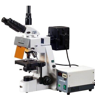 Amscope Fm690tc 40x-2500x Infinity Extreme Widefield Epi-fluorescent Microscope