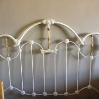 Beautiful antique queen bed frame