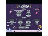 4 x Weekend Tickets For The Social Festival 2016