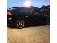Seat Leon Cupra R 2004 black 1.8t 12 months MOT low mileage BARGAIN
