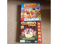 Two boxed games in perfect condition