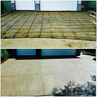 Great prices for your new concrete driveway garage shop etc
