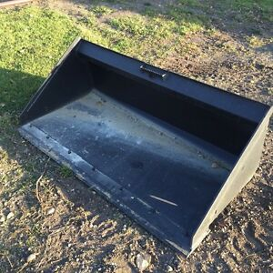 New - Quality 63 Inch Skid Steer Utility Bucket