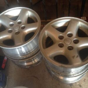 "15"" Jeep Alloy Rims ( 5 x 114.3) Set of 4"