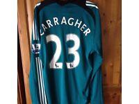 Jamie carragher signed shirt