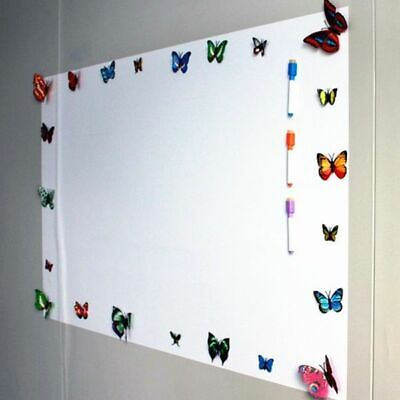 Wall Stickers Soft Magnetic Whiteboard Erasable Writing Board Decor Home Office