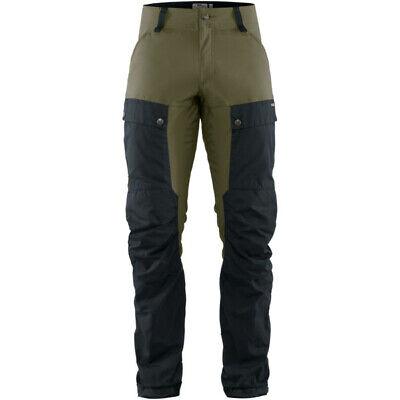 Fjallraven Keb Trousers Long - Dark Navy-Light Olive G1000 - Various sizes