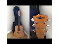 Gear4music guitar and case