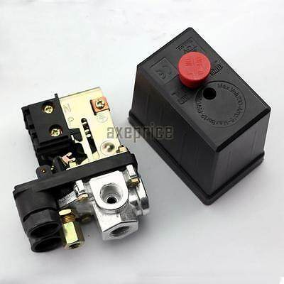 New Heavy Duty Air Compressor Pressure Switch Control Valve 90 PSI -120 PSI