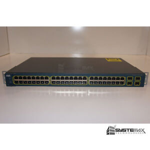 Cisco-Systems-WS-C3560-48TS-S-48-Port-Managed-Switch