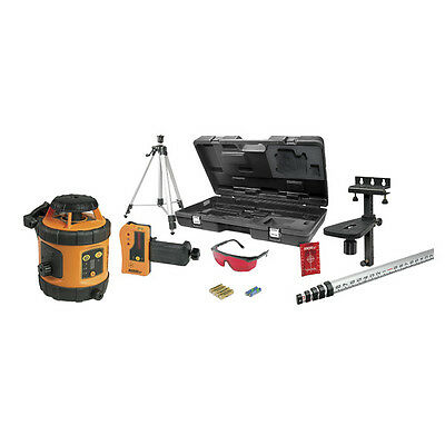 Johnson 40-6517 Self-Leveling Rotary Laser Level Kit