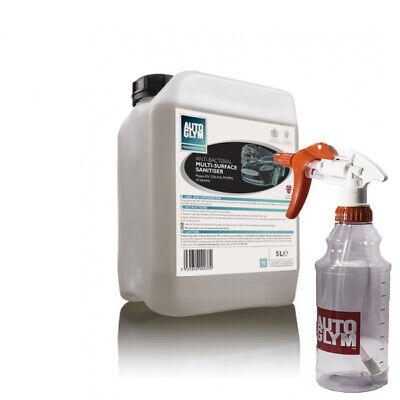 Autoglym Anti-Bacterial Multi Surface Sanitiser 5L