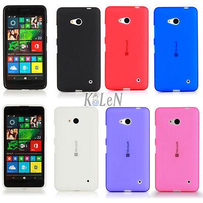 Surface Gel Matte Tpu Silicone Case Cover For Microsoft Nokia Lumia Mobile Phone